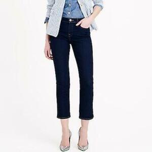 SOLDJ. Crew Dark Wash Vintage Cropped Jeans EUC #C